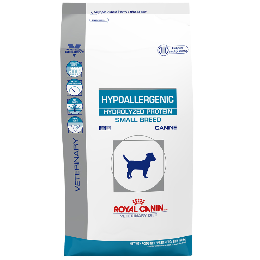 ROYAL CANIN Canine Hypoallergenic Hydrolyzed Protein Dry - Small Breed (8.8 lb)