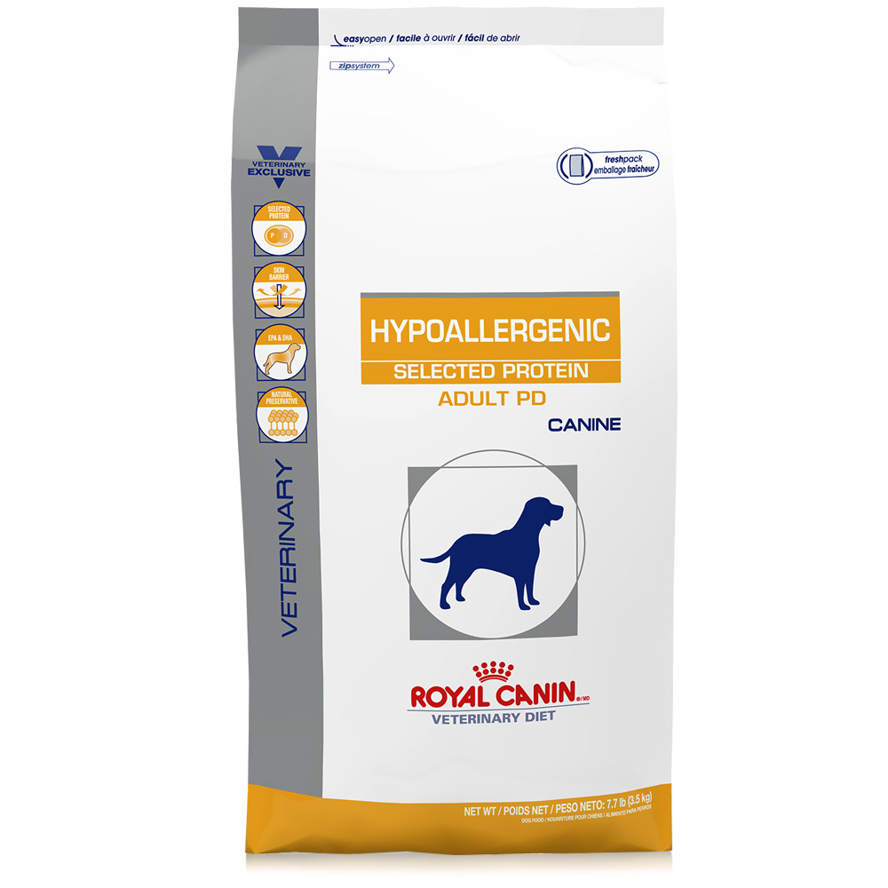 royal canin canine hypoallergenic selected protein adult pd 7 7 lb. Black Bedroom Furniture Sets. Home Design Ideas