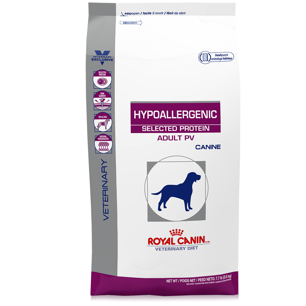 royal canin canine hypoallergenic selected protein pv for canine 7 7 lb. Black Bedroom Furniture Sets. Home Design Ideas