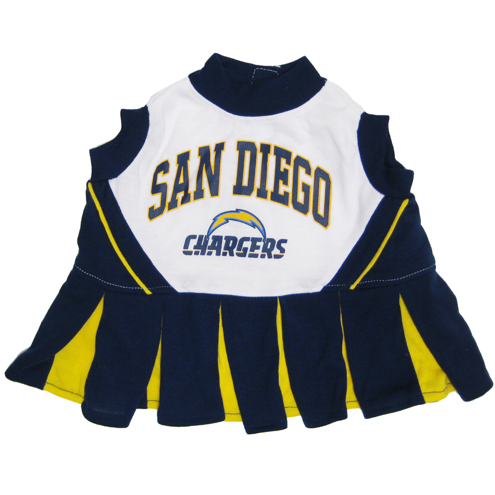 San Diego Chargers Cheerleader Costume: Doggie Nation