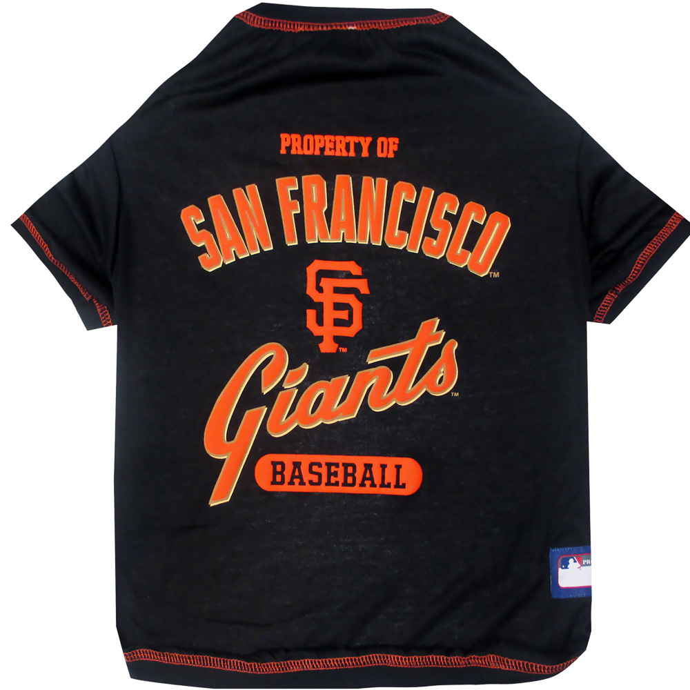 San Francisco Giants Dog Tee Shirts