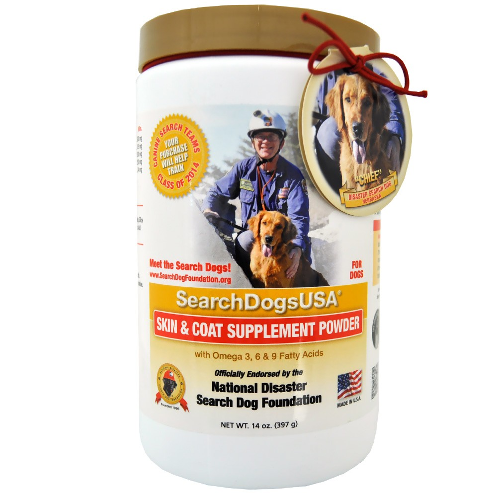 SearchDogs USA Skin & Coat