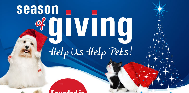 Season of Giving, Help Us Help Pets!