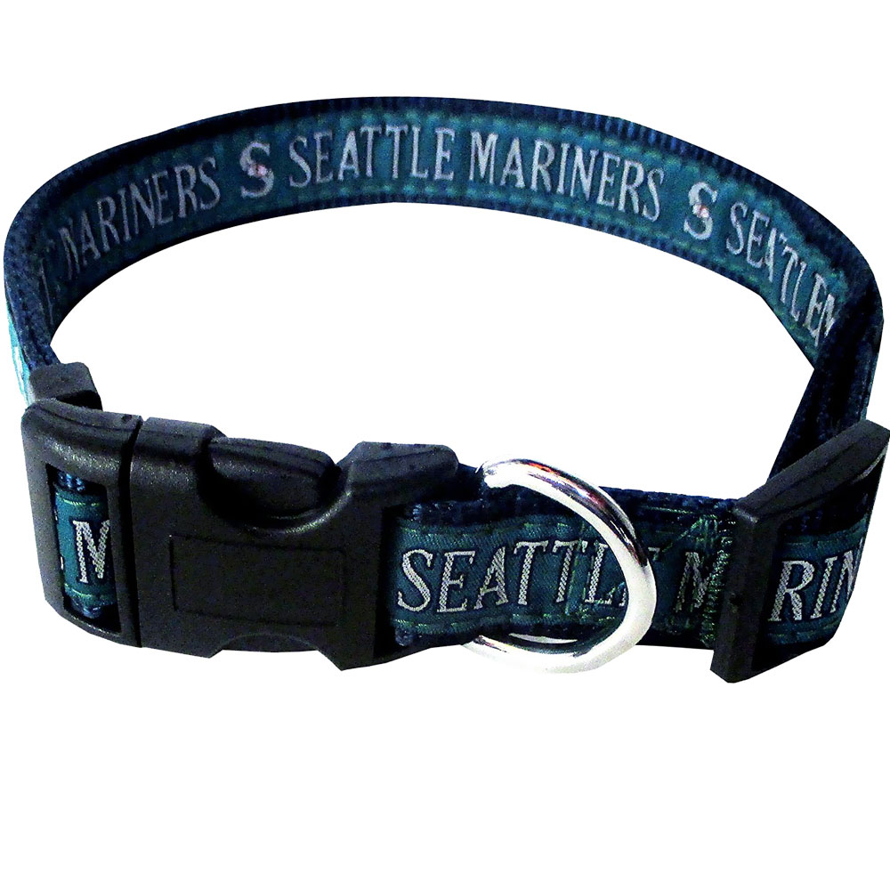 Dog Suppliesapparelcollars Leashes & Harnessesseattle Mariners Dog Collars & Leashes