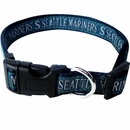 Seattle Mariners Collar - Ribbon (Small)