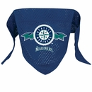 Seattle Mariners Dog Bandana - Large