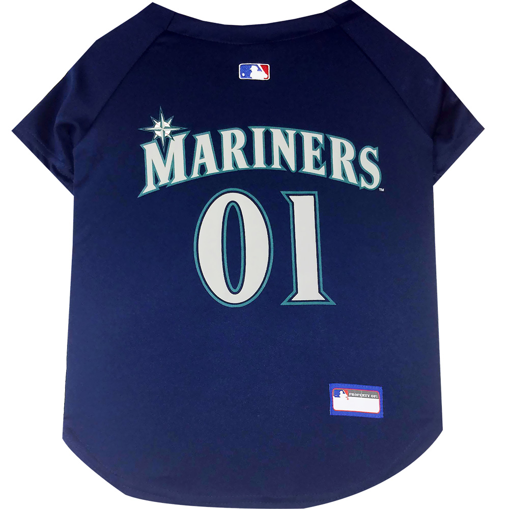 Seattle Mariners Dog Jerseys