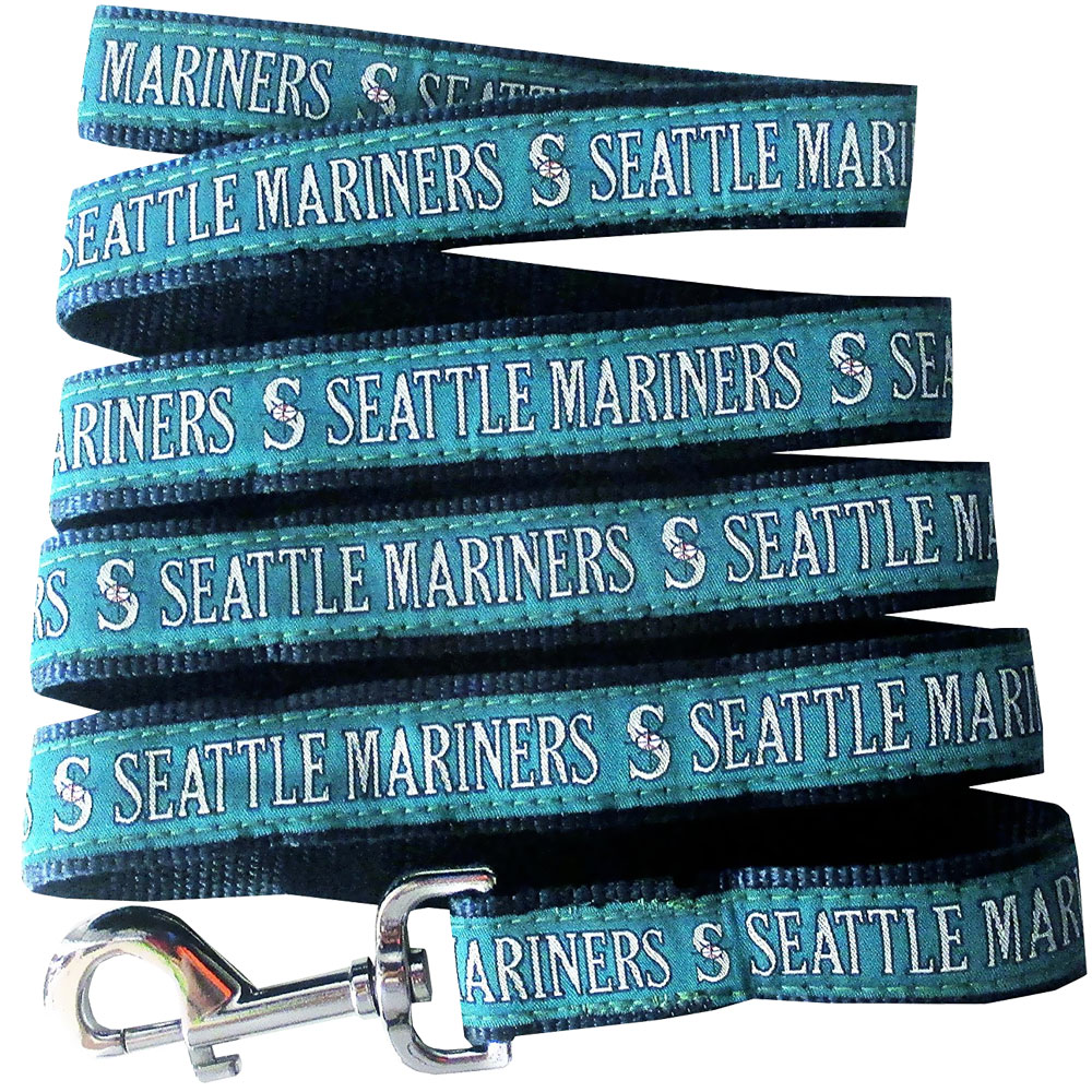 Seattle Mariners Dog Leash - Ribbon