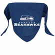 Seattle Seahawks Dog Bandana - Large