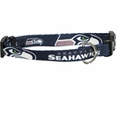 Seattle Seahawks Dog Collars & Leashes