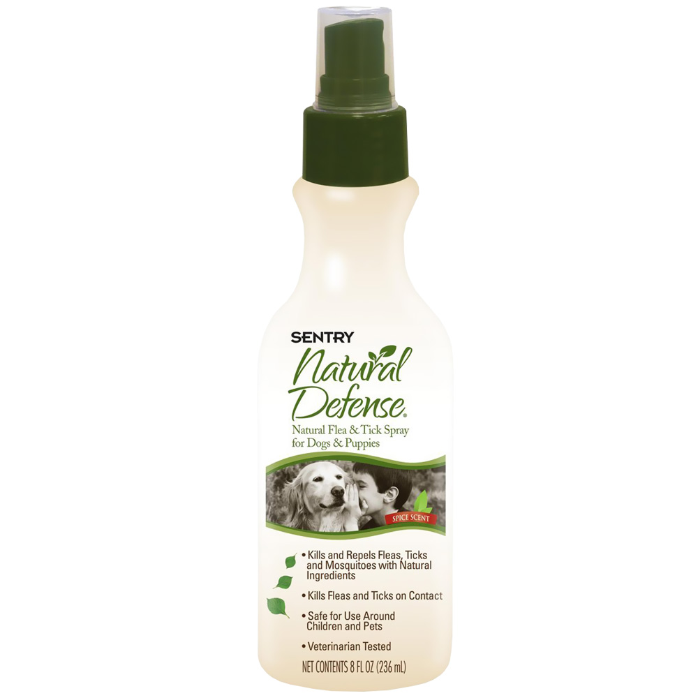 Sentry Natural Defense Natural Flea & Tick Spray (8 oz)