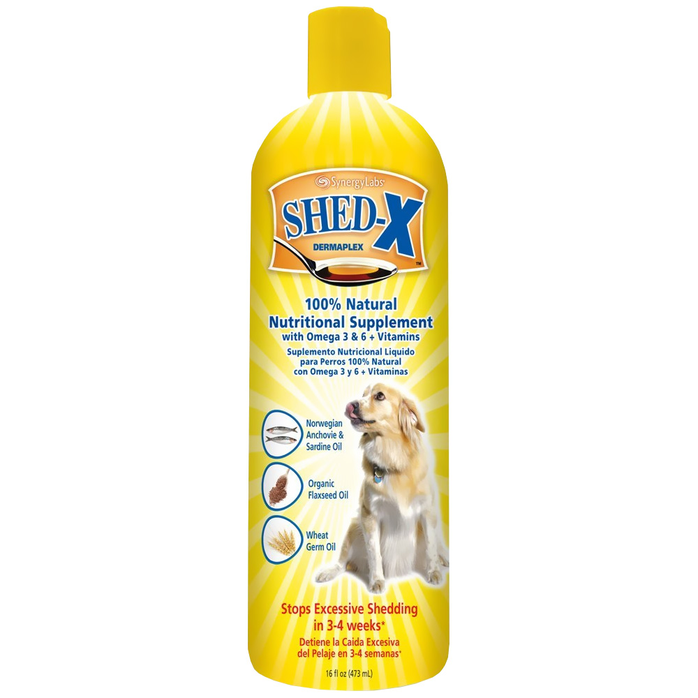 Shed-X Dermaplex Nutritional Supplement for Dogs (16 fl oz)