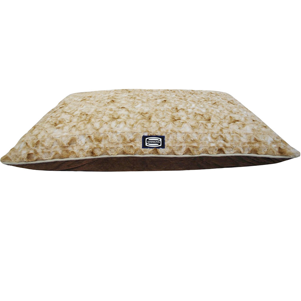Simmons Snuggly Sleep Reversible Pillow Dog Bed (50x40)