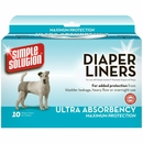 Simple Solution Diaper Liners - Ultra Absorbency Maximum Protection (10 pack)