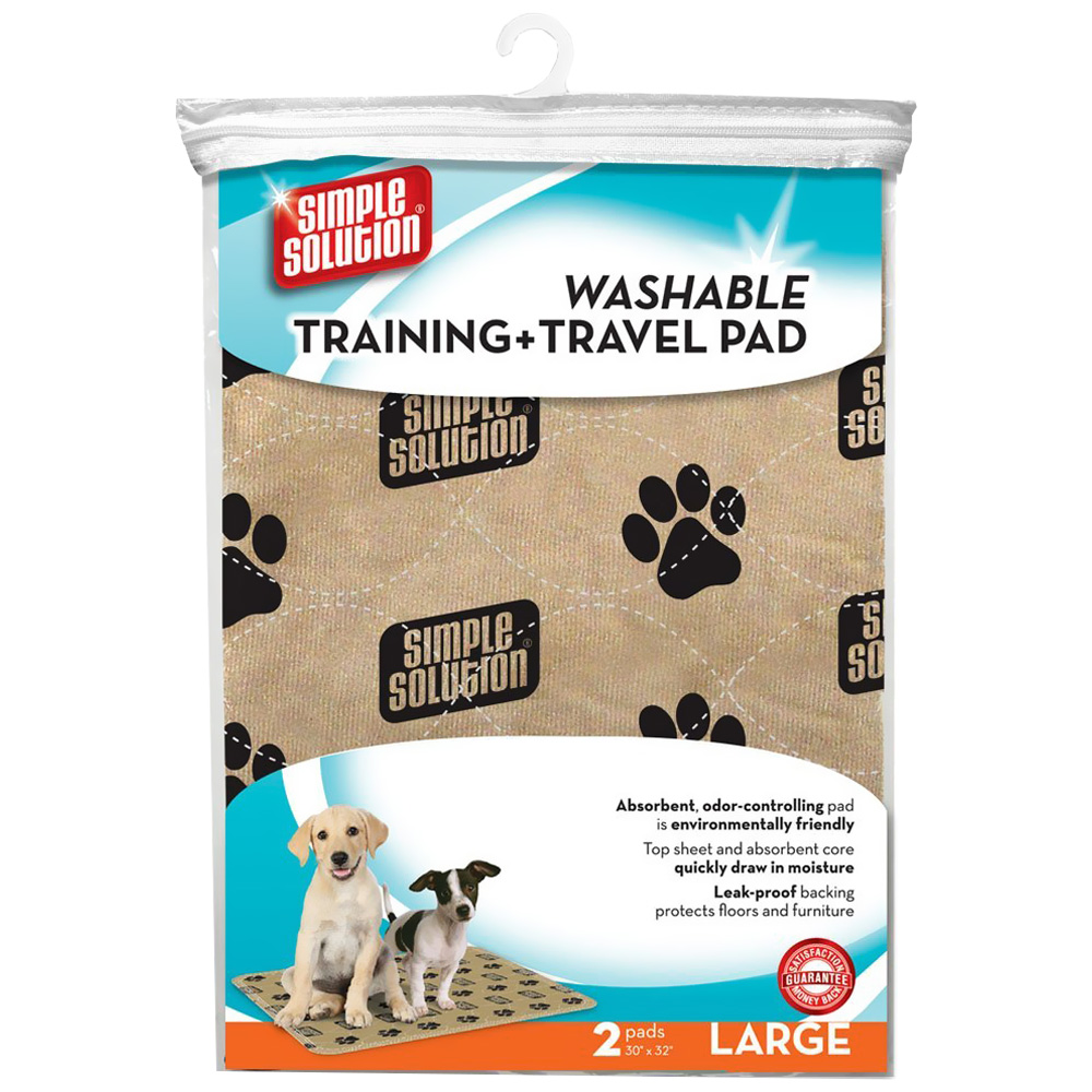 Simple Solution Washable Training And Travel Dog Pad