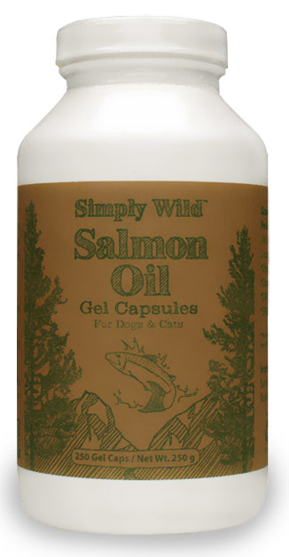 Simply Wild Salmon Oil Gel Capsules
