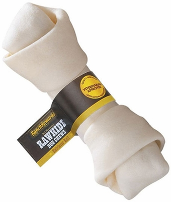 "Single LARGE Rawhide Bone (9""-10"")"