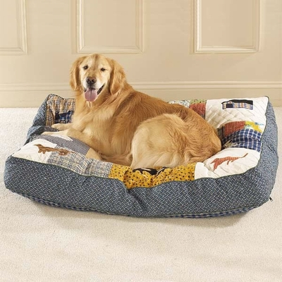 Slumber Pet Quilted Bed (Small 30Lx24Wx5.5H)