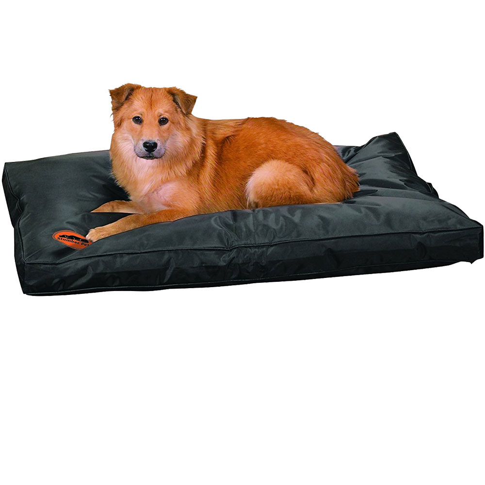 Slumber Pet Toughstructable Bed - Black (36x23In)