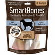 SmartBones Large Peanut Butter Chews (3 pack)