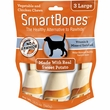SmartBones Large Sweet Potato Chews (3 Pack)
