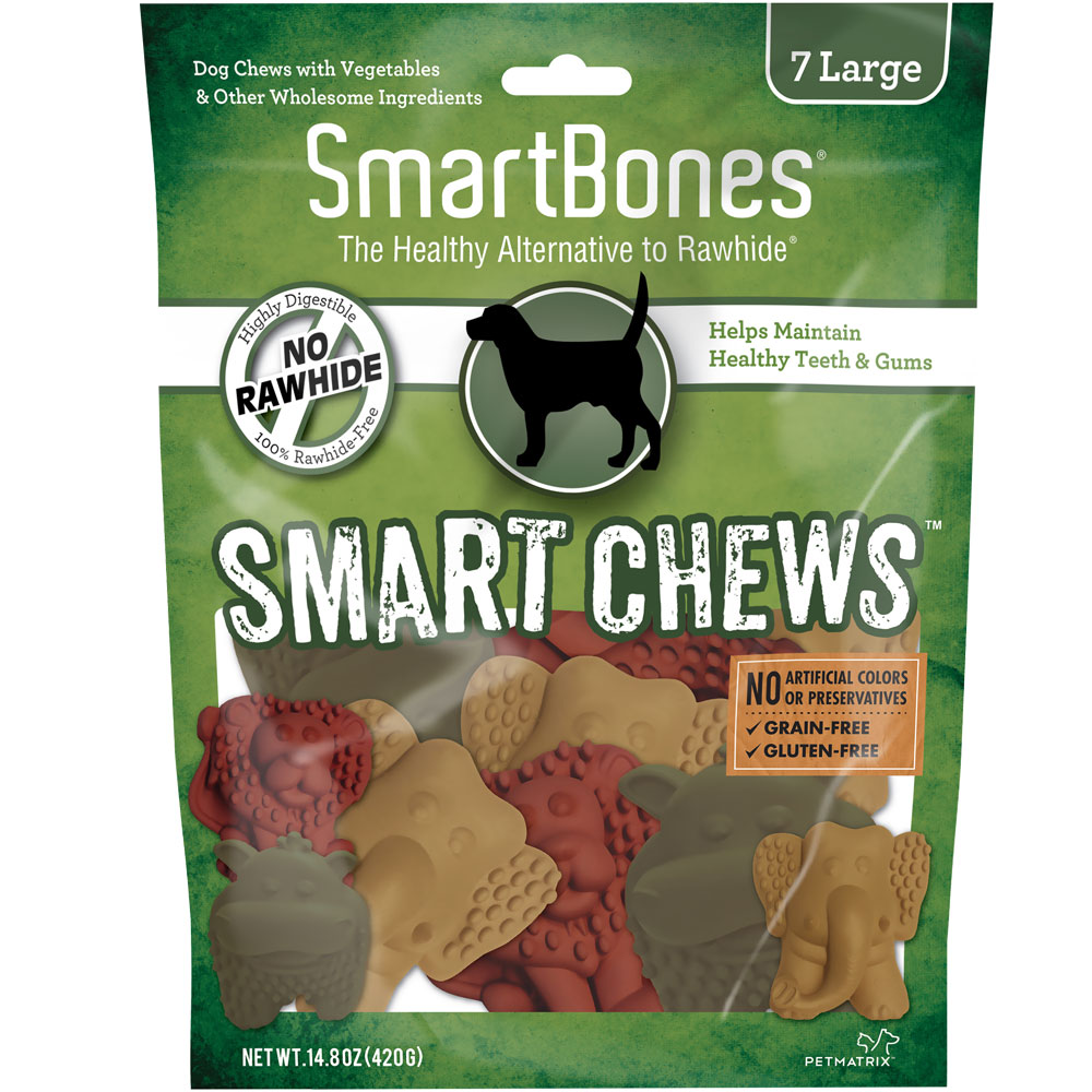 SmartBones Smart Chews (7 Large Safari Chews)