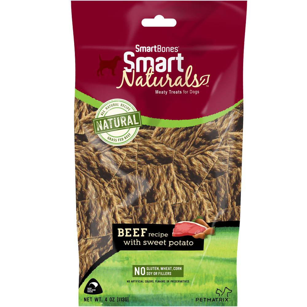 SmartBones Smart Naturals - Beef Recipe (4 oz)