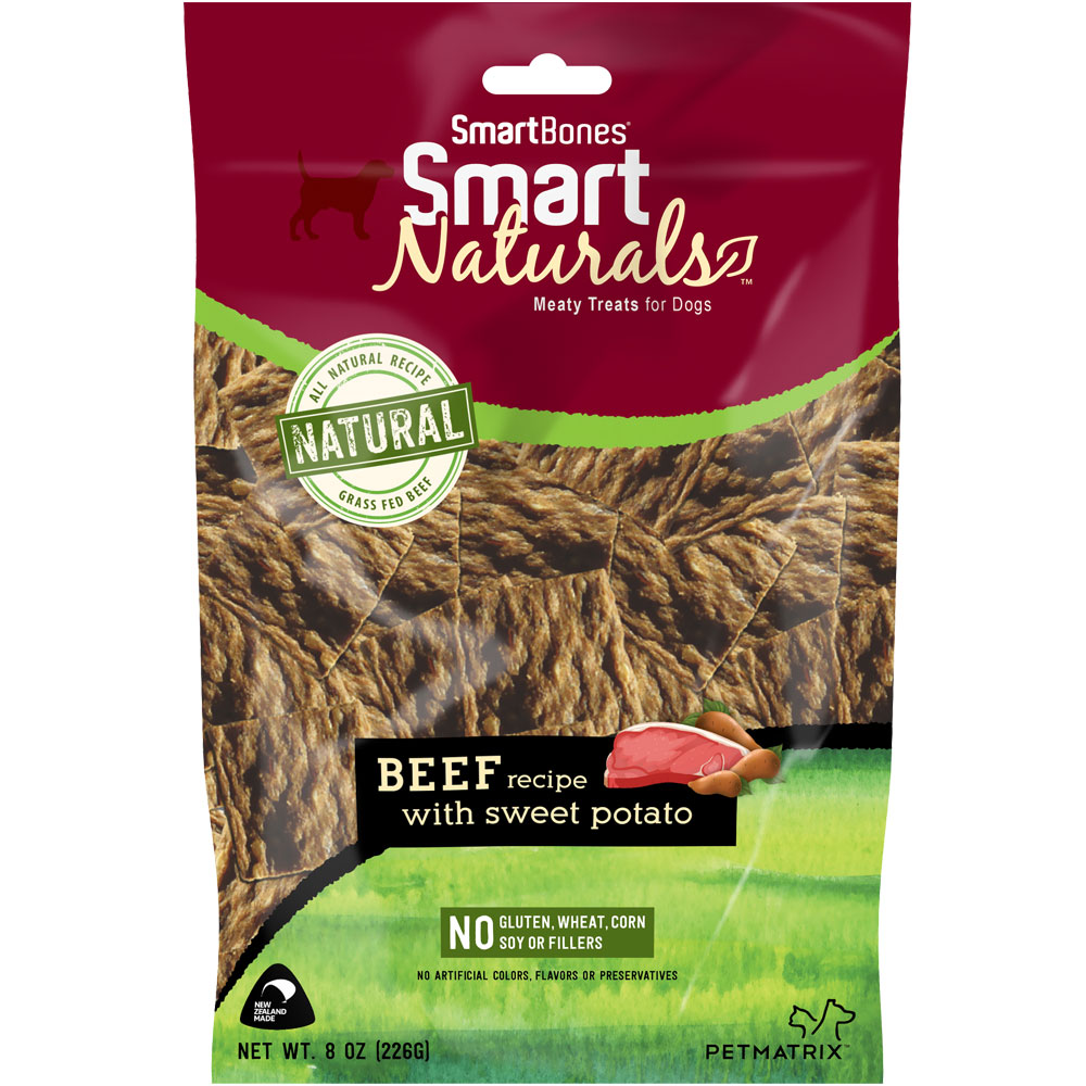 SmartBones Smart Naturals - Beef Recipe (8 oz)