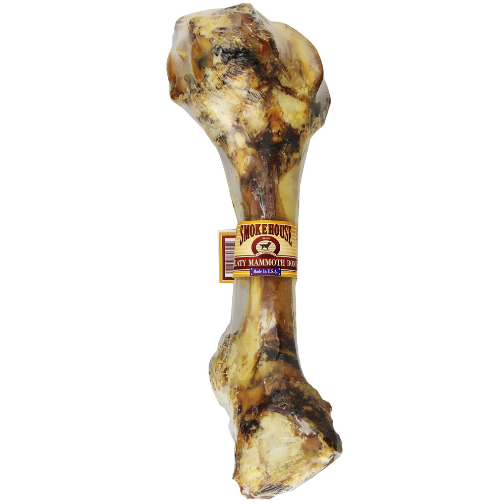 Smokehouse Meaty Mammoth Bone for Dogs (2 lb)