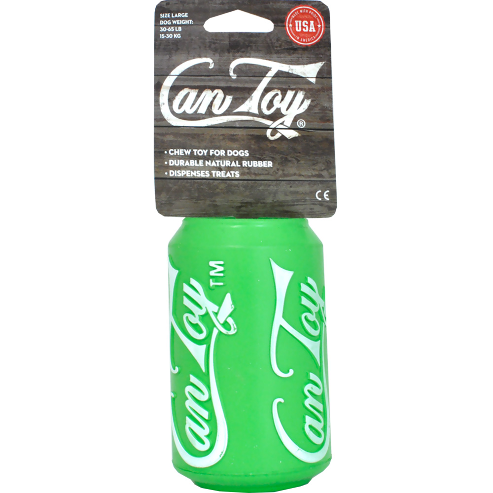 SodaPup Can Toy - Large (Green)