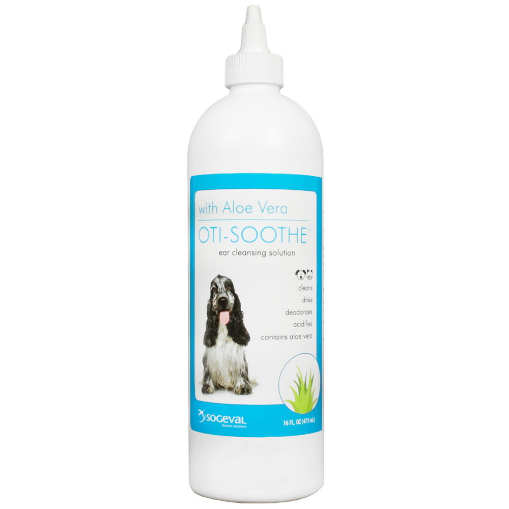 Sogeval Oti-Soothe Ear Cleansing Solution with Aloe Vera (16 oz)
