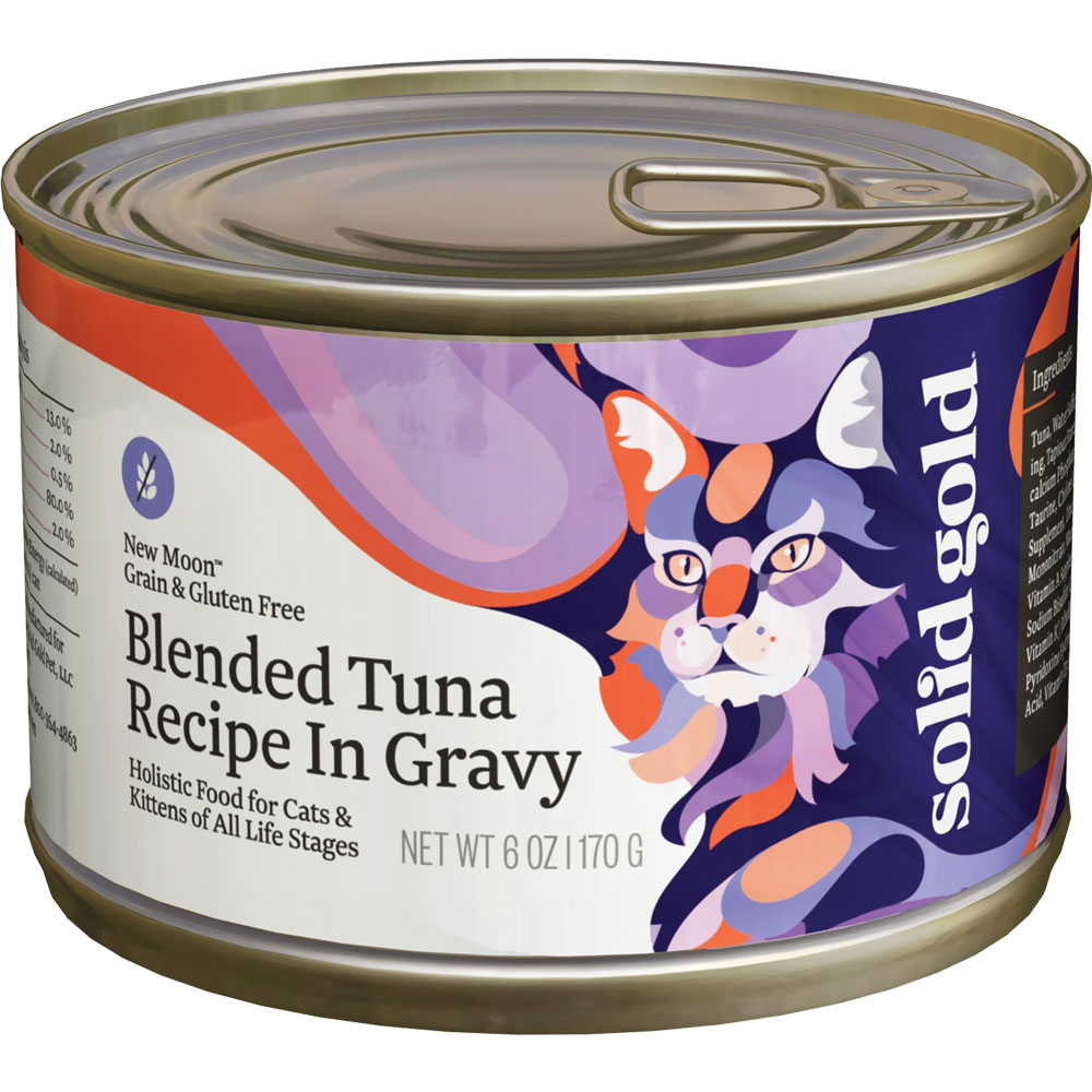 Solid Gold New Moon Tuna Cat Canned Food (6 oz)