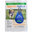 Spectra Shield flea & tick Medallion for Small Dogs (14-29 lb) GREEN