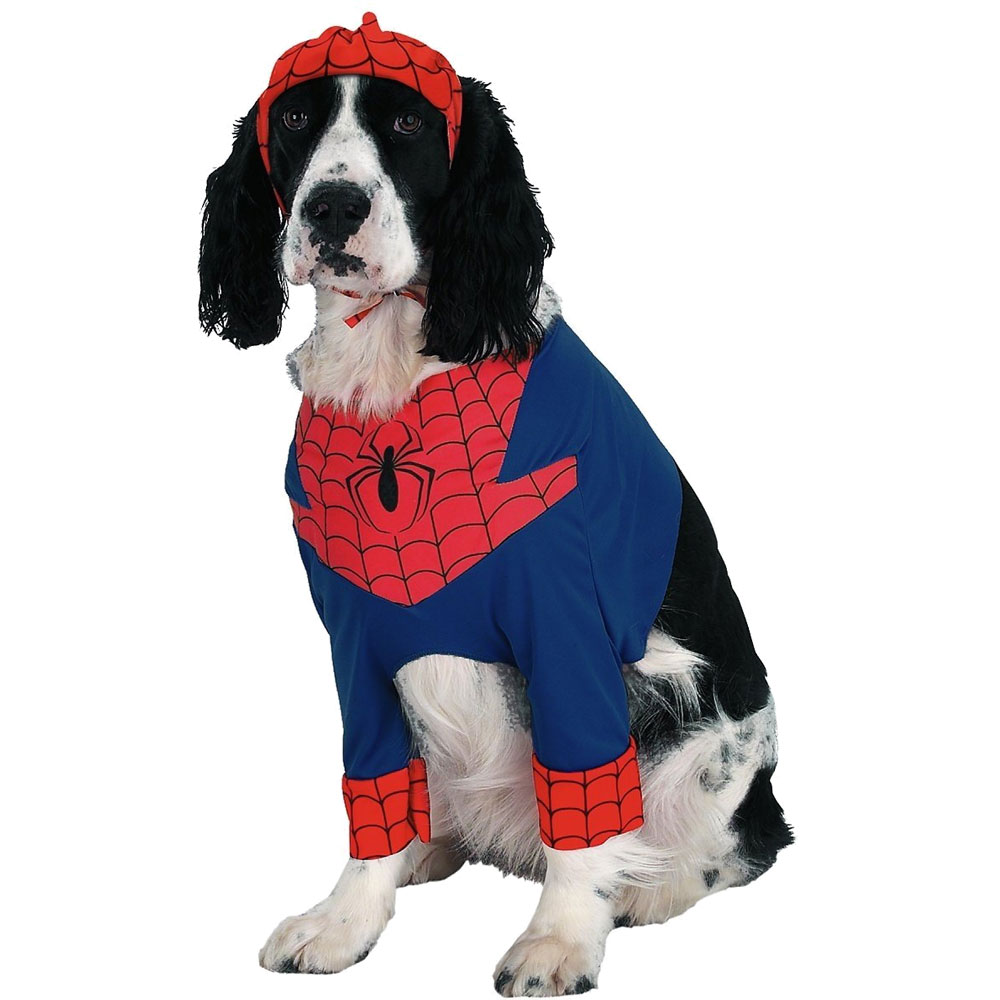 Dog Suppliesappareldog Costumesspiderman Dog Costume