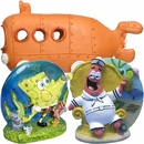 Spongebob & Patrick Aerating Aquarium Ornament Set