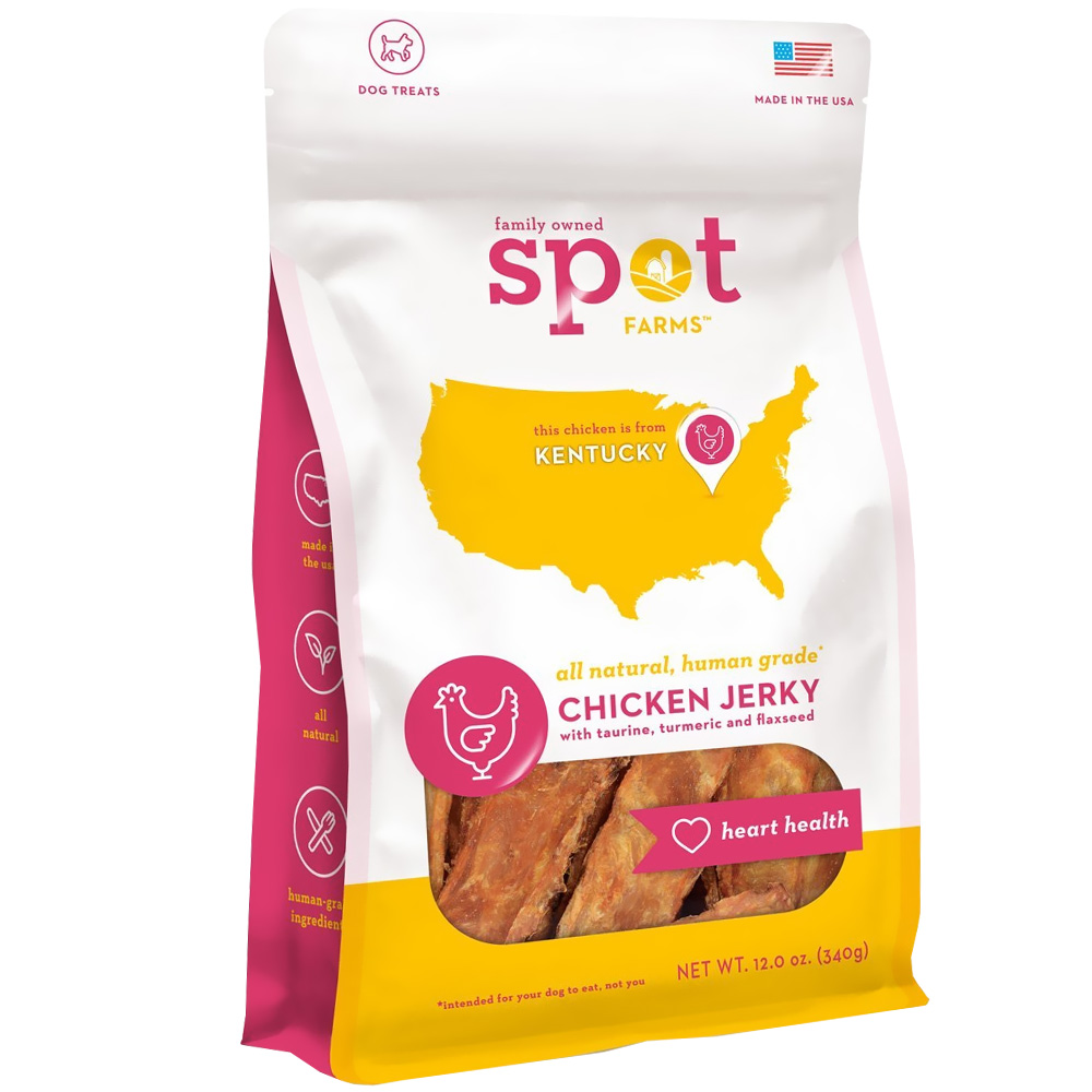 Spot Farms Chicken Jerky - Heart Health (12 oz)