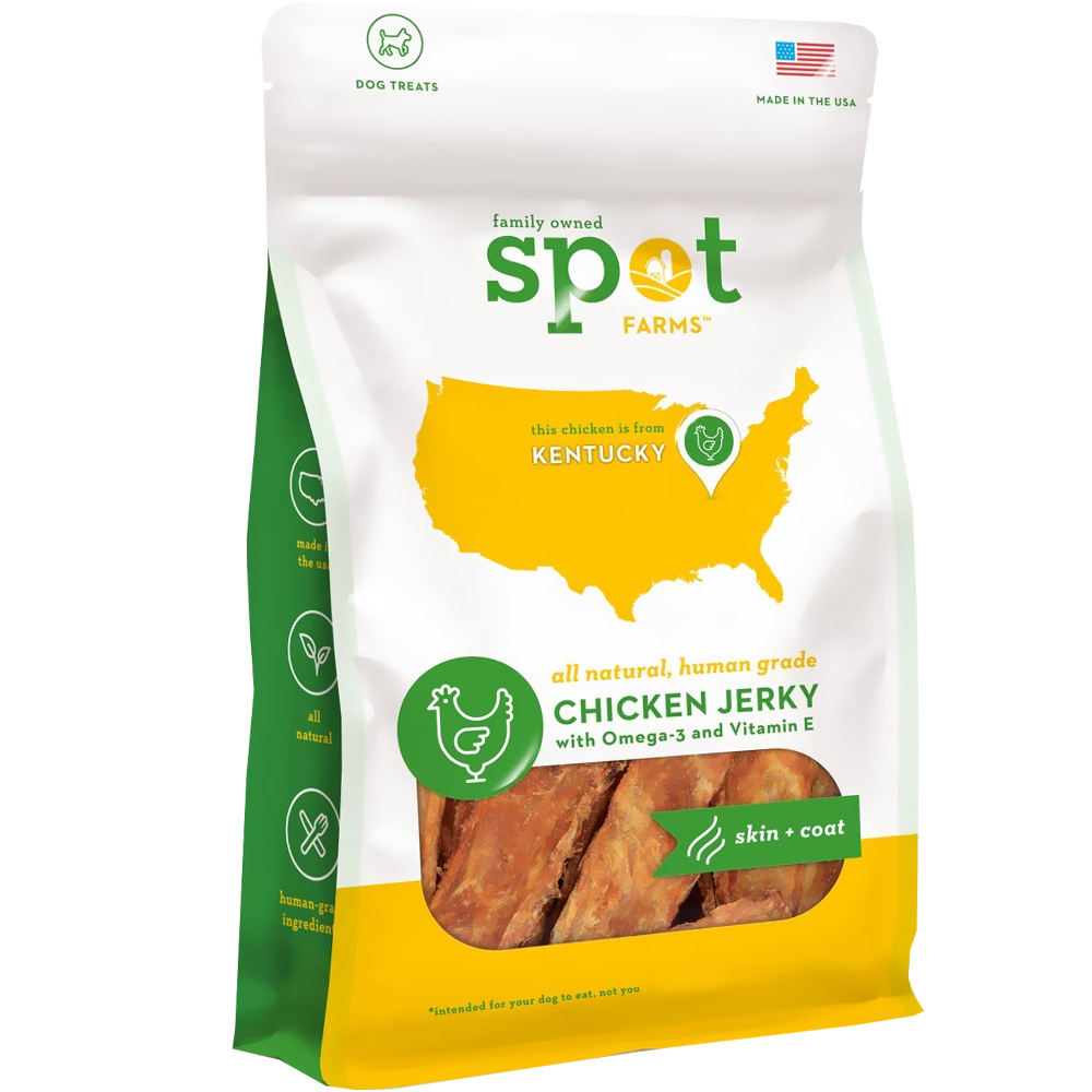 Spot Farms&reg: Chicken Jerky Skin + Coat (6 oz)