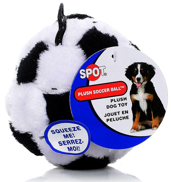 Spot Plush Dog Toy