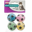 Spot Sponge Soccer Balls Cat Toy (4 pack)