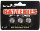 SpotBrites Laser Replacement Batteries 3-PACK (1.5V)