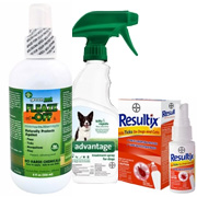Sprays, Wipes & Powders