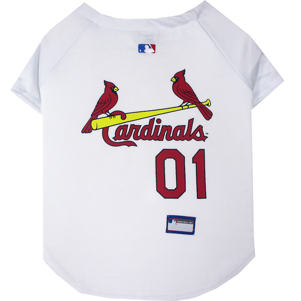 St. Louis Cardinals Dog Jerseys