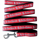 St. Louis Cardinals Dog Leash - Ribbon