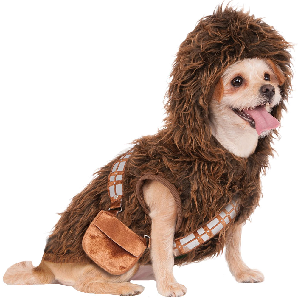 Star Wars Chewbacca Hoodie Dog Costume - Small