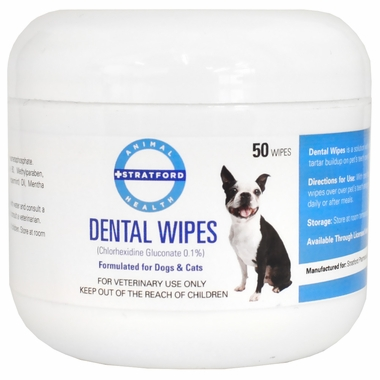 Stratford Chlorhexidine Dental Wipes