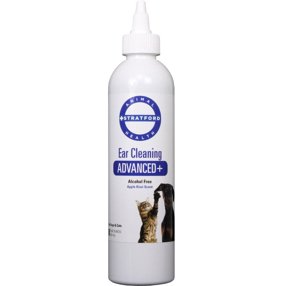 Stratford Ear Cleaning ADVANCED+ for Dogs & Cats (8 oz)