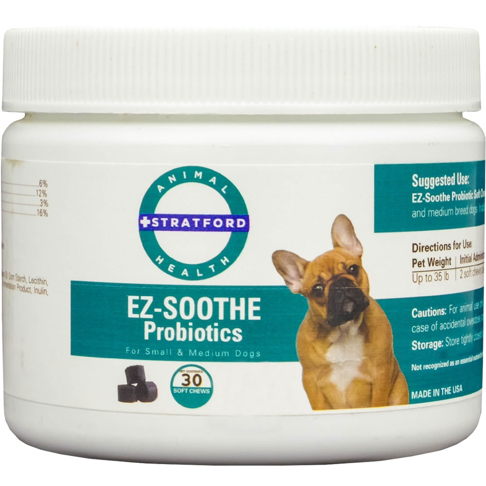 EZ-SOOTHE-PROBIOTIC-30-SOFT-CHEWS-SMALL-MEDIUM-DOGS