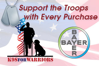 Support the Troops with Every Purchase: Bayer Partners with K9s For Warriors