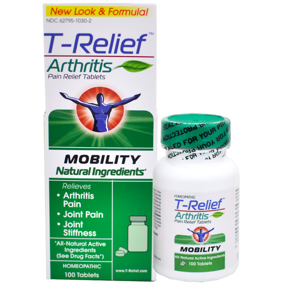 T-Relief Arthritis Pain Relief Tablets - Mobility (100 Count)
