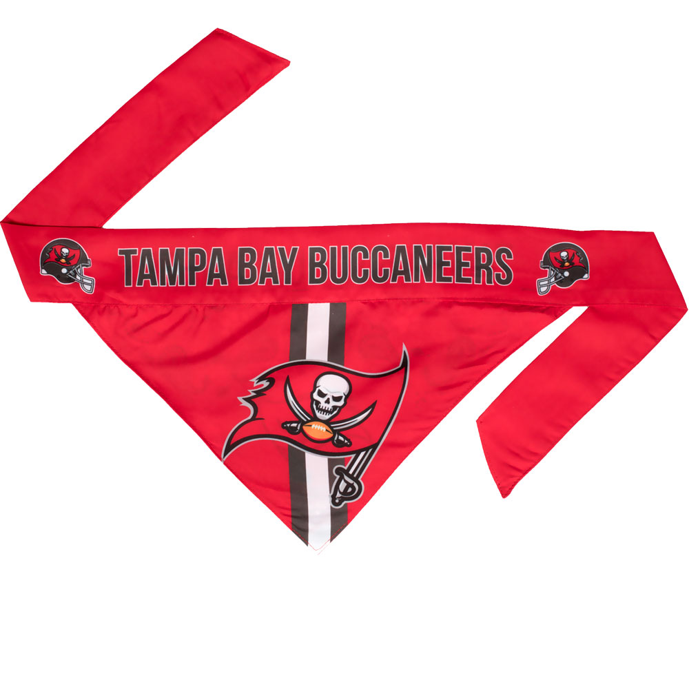 Tampa Bay Buccaneers Dog Bandana - Tie On (Large)